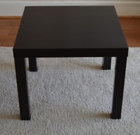 Ikea 'Lack' coffee table. Black, wood. Used. Excellent condition.