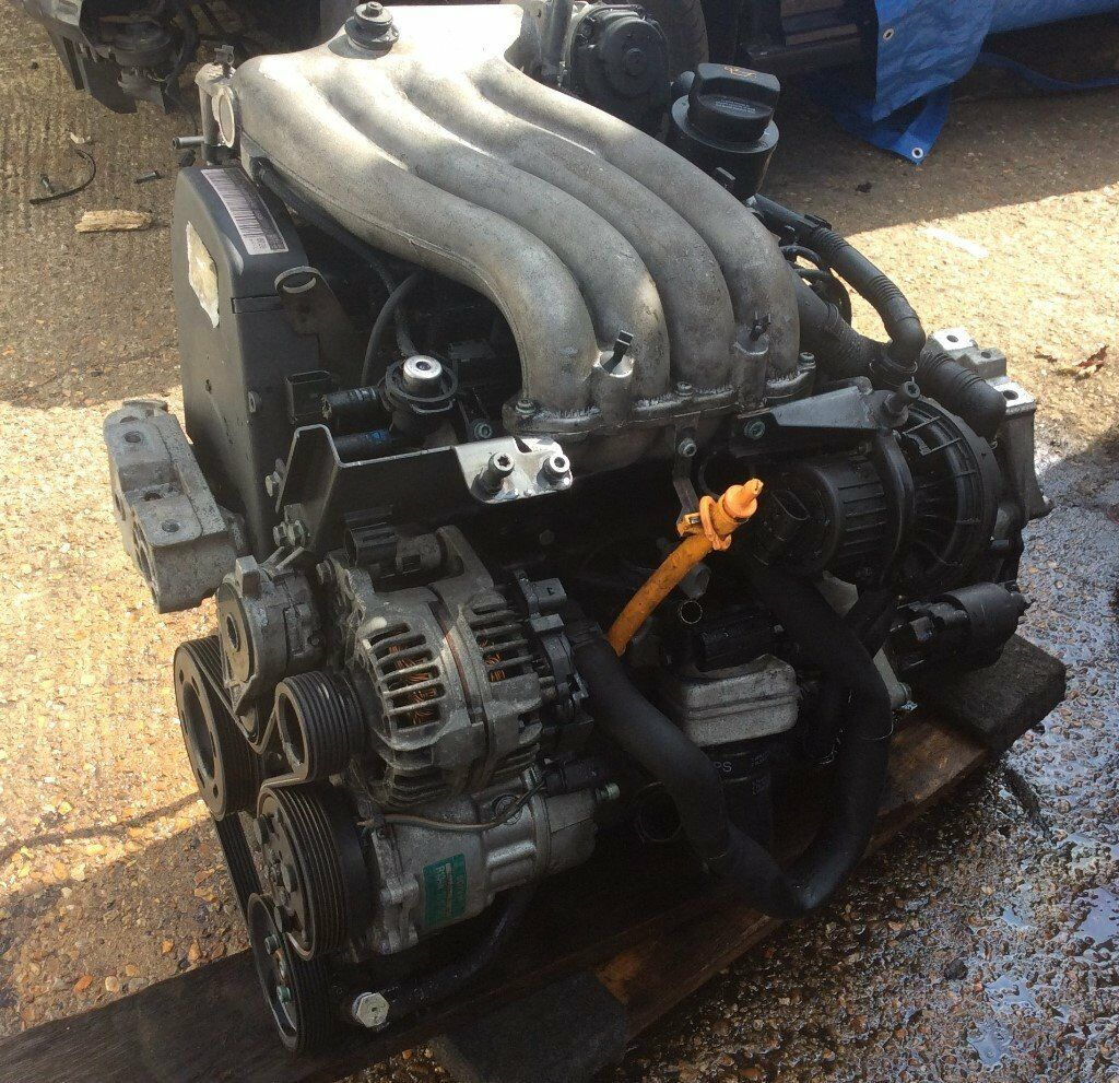 Vw Beetle Engine Components: VW NEW BEETLE 2000 2.0 8V PETROL ENGINE AND GEARBOX 5