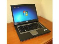 Dell D820 Laptop Computer 2GHz CoreDuo, 3GB RAM, 160GB HD, Windows 7 pro MS Office 2010, Refurbished