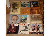 Twelve French LPs
