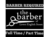 Barber/Hairdresser wanted in Armagh
