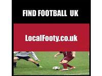 Play football in Birmingham, find football in Birmingham, join football team in Birmingham,find team