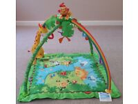 isher-Price Baby Rainforest Melodies and Lights Deluxe Gym