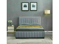 🔵💖🔴furniture for you🔵💖🔴PLUSH VELVET DOUBLE SIZE LUCY STORAGE BED FRAME-CALL NOW
