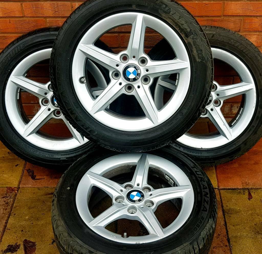 Bmw 1 Series F20 F21 16 Alloy Wheels Genuine Ronal Bmw Style