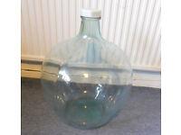 Large Clear Glass Carboy, Terrarium, Bottle Garden, Collection Jar