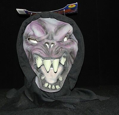OVER BITE Hooded Scary Halloween Monster Mask -  Rubie's Costume Co. Adult