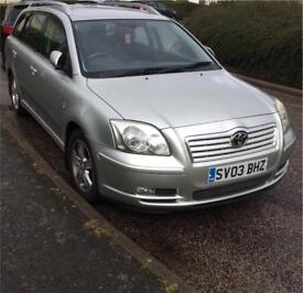 Toyota avensis estate for sale