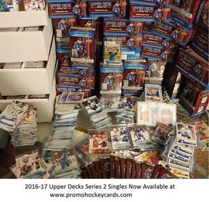 2016-17 Upper Deck Series 2 & 1 Hockey Card Singles Available - Young Guns YG RC Marner Laine Nylander Vasey Portraits