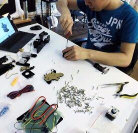 Build a 3D printer this summer!