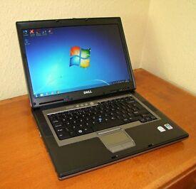 Dell Latitude D820 Laptop Computer, Intel Core Duo 2.0 GHz, 3GB, 160GB, Windows 7 pro, Refurbished