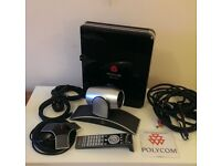 Polycom HDX 7000 HD PAL Conferencing System. Cables Included. FREE DELIVERY