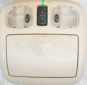 OVERHEAD INTERIOR DOME LIGHT ASSEMBLY with sunglasses bin, and sunroof switch for 2010 to 2012 FORD FUSION SEDAN SEL $35
