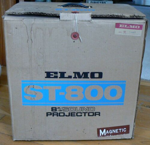 Vintage Elmo ST-800 8mm Sound Projector Magnetic - Brand New in Box !!!