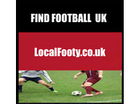 PLAYERS WANTED OF ALL ABILITIES. FIND FOOTBALL IN THE UK, JOIN FOOTBALL TEAM, FOOTBALL 8YV