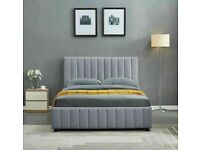 🎶SALE END SOON🎶PLUSH VELVET DOUBLE SIZE LUCY STORAGE BED FRAME OPT MATTRESS-ORDER NOW🎶