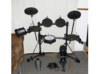 Roland TD-3k electronic V Drums kit & kick pedal MESH snare upgraded TD-6 rack