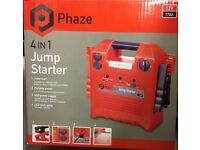 Brand new boxed phase 4 in 1 jump-starter
