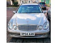 Mercedes-Benz E-Class e220 cdi Estate, Silver Colour, year 2004 for Quick Sale