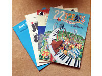 Selection of Solo Piano Sheet Music Books (Approx. Grades 1-3)