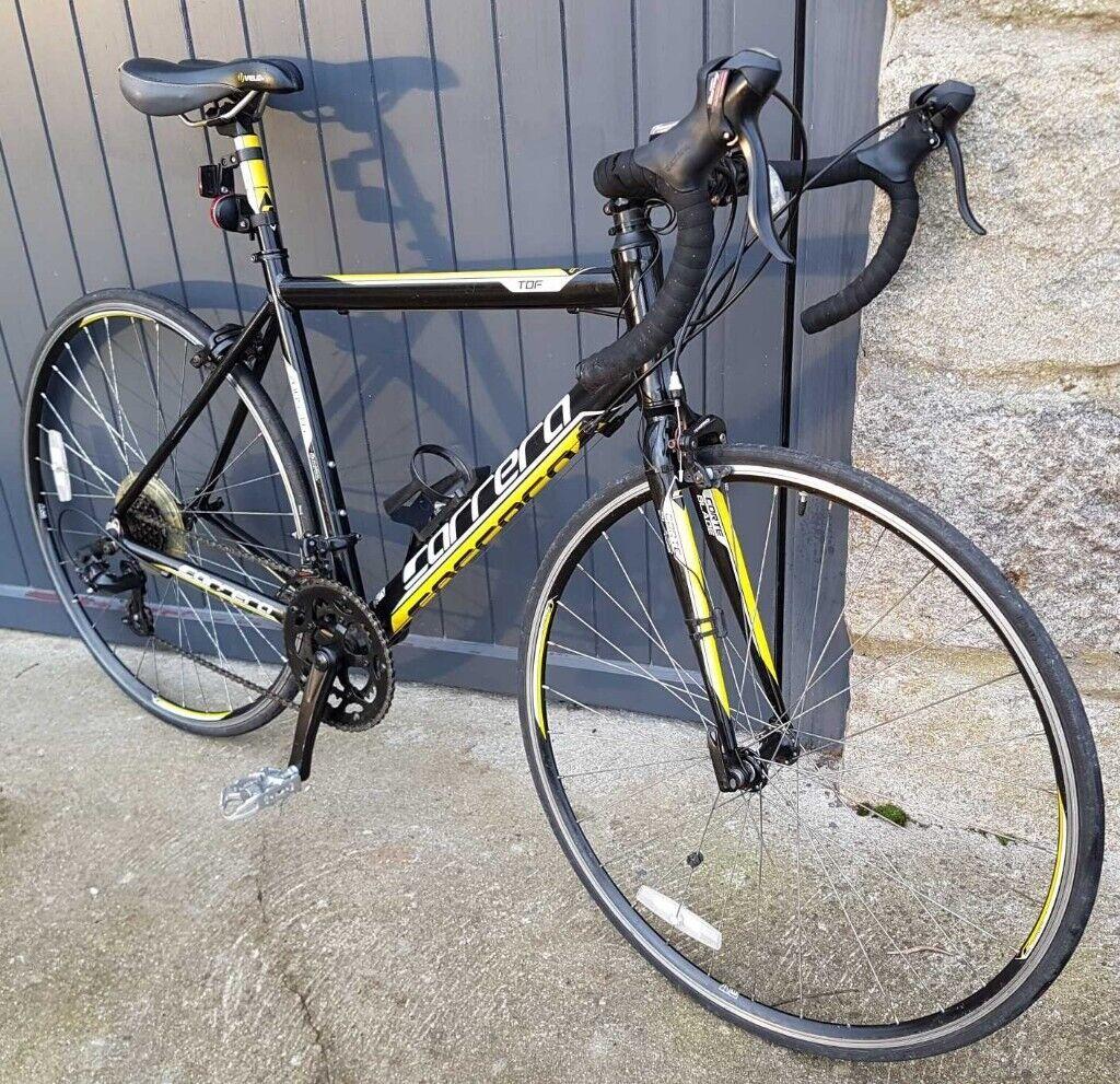 Carrera Road Bike - TDF Ltd 7005 T6 51cm Frame - Black/Yellow | in  Inverurie, Aberdeenshire | Gumtree
