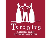 Wine and food enthusiasts wanted for the opening of Terroirs in East Dulwich