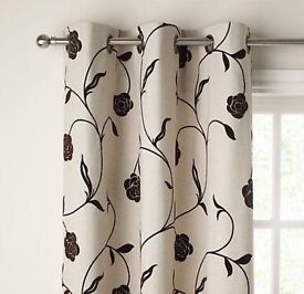 I PAIR OF JOHN LEWIS CURTAINS, GREAT CONDITION, size 132 cm wide, 137 drop
