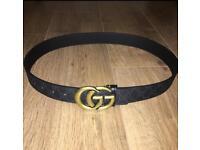 Gucci GG Gold Belt