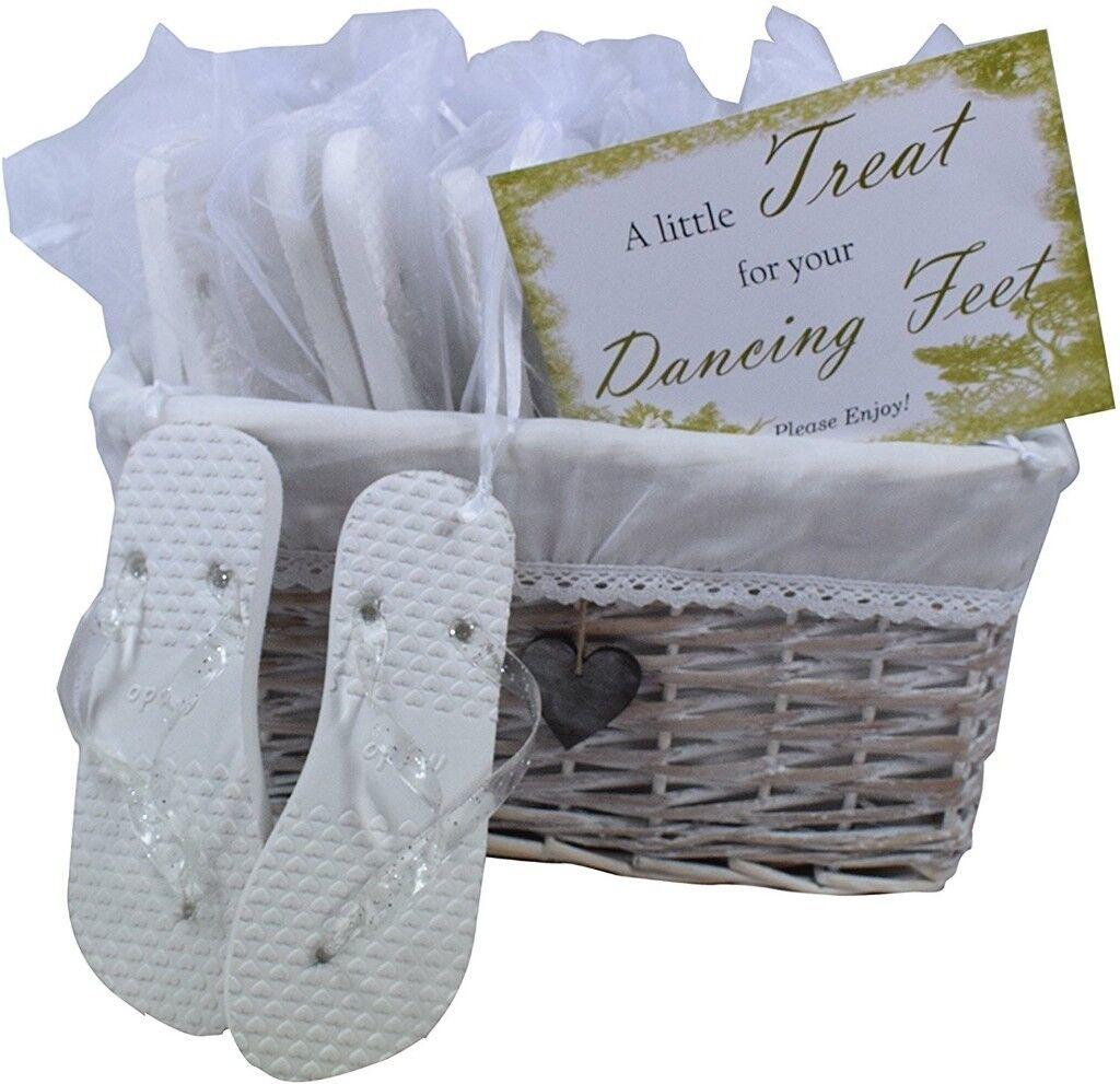 4ddbfa52c Wedding guest flip flops. Various sizes.
