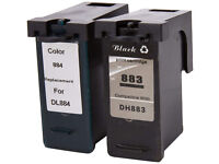 Dell Series 7 Printer Ink Cartridges - Black/Colour (Pack of 6) ompatible Dell All-In-One 966 / 968
