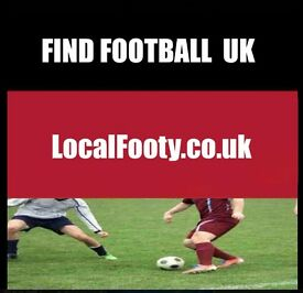 Find football all over LONDON, BIRMINGHAM, MANCHESTER, PLAY FOOTBALL IN LONDON, FIND FOOTBALL f3456