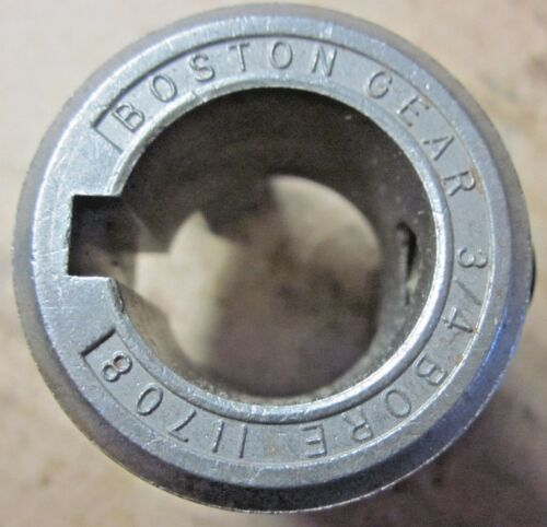 """Boston Gear BF10 Coupling Jaw 11708 11740: Bore 0.75 Inch for 3/4"""" Shaft"""