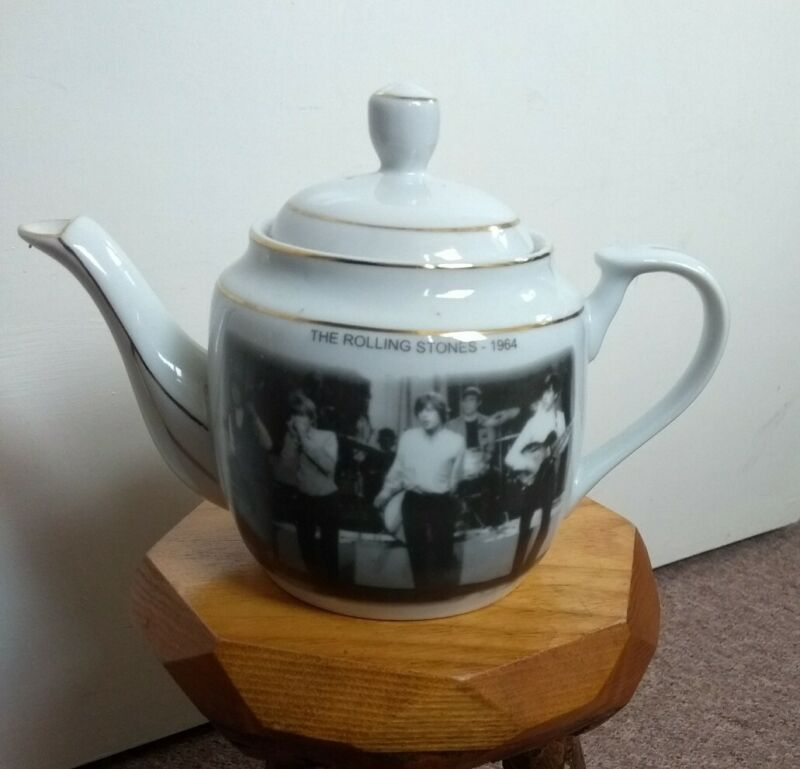 Rare Vintage Rolling Stones Teapot 1964 memorabilia