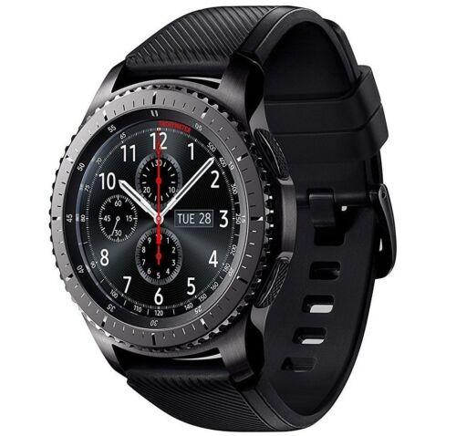Samsung Gear S3 Frontier Smartwatch 46mm Stainless Steel Verizon Dark Gray SM-R765VDAAVZW