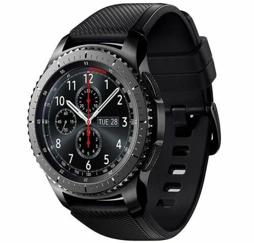 NEW Samsung Galaxy Gear S3 Frontier Smart Watch SM-R760 Bluetooth+WiFi 46mm Gray