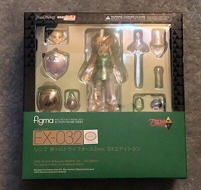 BRAND NEW Legend of Zelda Link Between Worlds Figma Figure DX Deluxe Edition 032