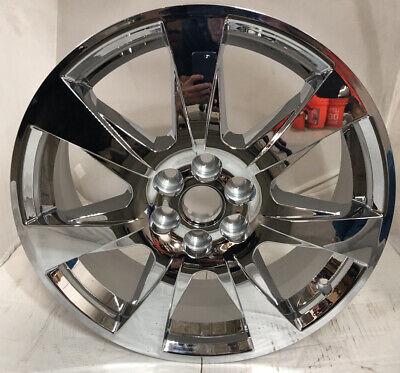 "2010 2011 2012 2013 Cadillac SRX 20"" Chrome Wheel Part #4666"