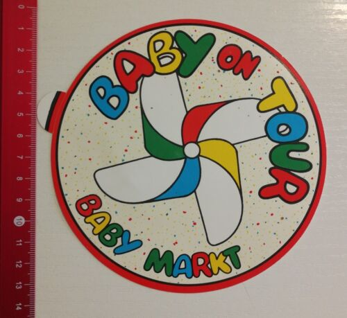 Aufkleber/Sticker: Baby Markt Baby on Tour (020517140)