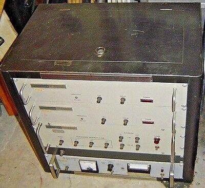 Hp Hewlett Packard 117a Vlf Comparator Motorola 1076 1061 Frequency Expander