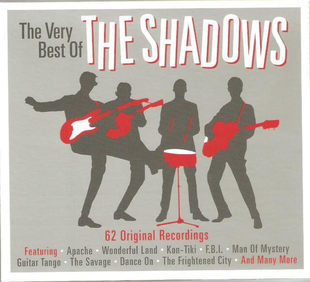 THE VERY BEST OF THE SHADOWS - 3 CD BOX SET - 62 ORIGINAL RECORDINGS