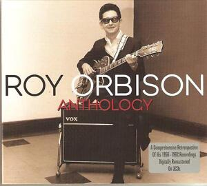 ROY ORBISON ANTHOLOGY - 3 CD BOX SET - RUNNING SCARED, CANDY MAN & MORE