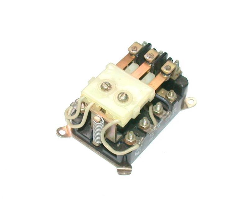 NEW WARD LEONARD  110-6432   3-POLE MAGNETIC CONTACTOR 115 VDC