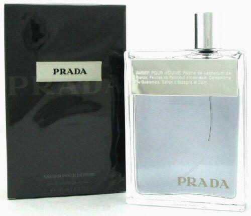 Prada Amber Pour Homme Cologne by Prada 3.4 oz Eau de Toilette Spray. NEW
