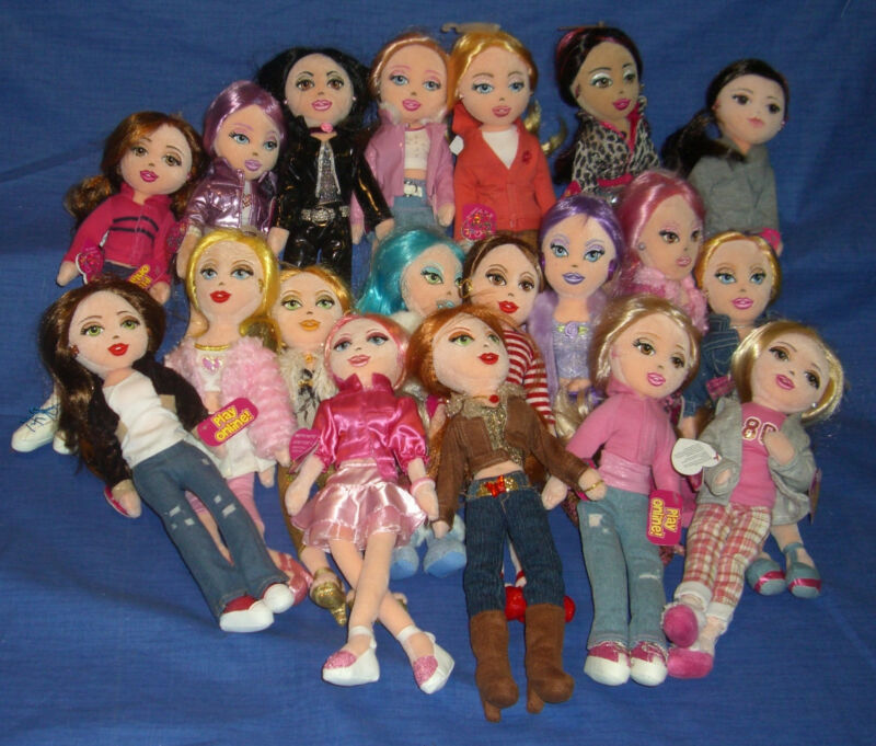 W-F-L TY Girlz 12 5/8in Doll Large Selection