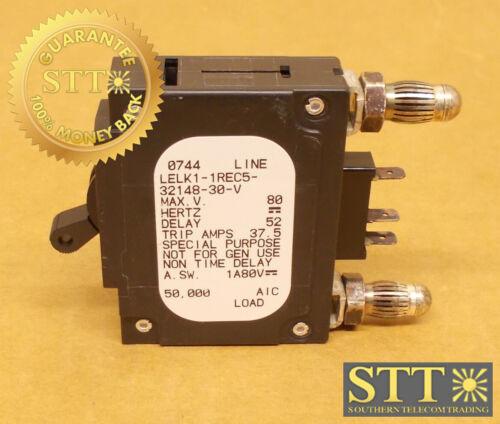 Lelk1-1rec5-32148-30-v Airpax 30 Amp Dc Bullet Circuit Breaker 80vdc
