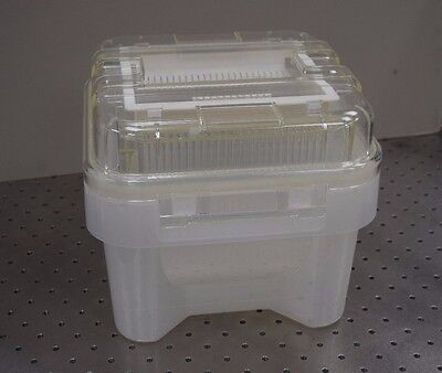 Shin Etsu Mw200-n-c Silicon Glass Wafer Case For 200mm For 25 Wafers