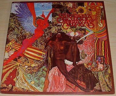 Santana Abraxas Gatefold Album 1985 Reissue Columbia Pc 30130