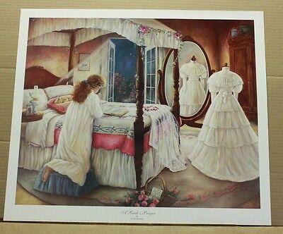 A Bride's Prayer by Paula Vaughan Bridal Wedding Dress love letter roses SOLDOUT (A Wedding Prayer)