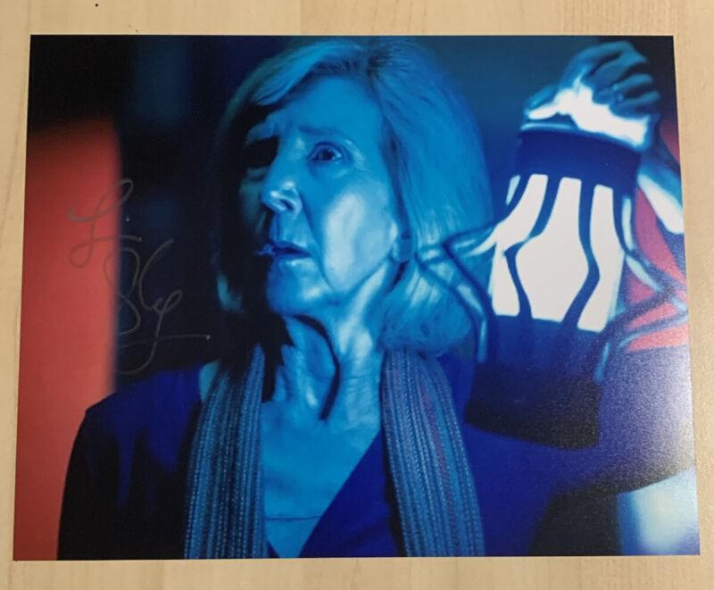 LIN SHAYE HAND SIGNED 8x10 PHOTO ACTRESS INSIDIOUS MOVIE STAR AUTOGRAPHED COA