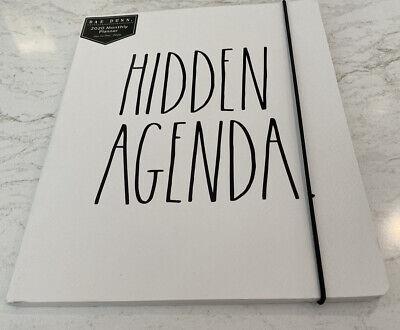 Rae Dunn Hidden Agenda 2020 Planner Jan. To Dec. 2020 Softbound 12 Months